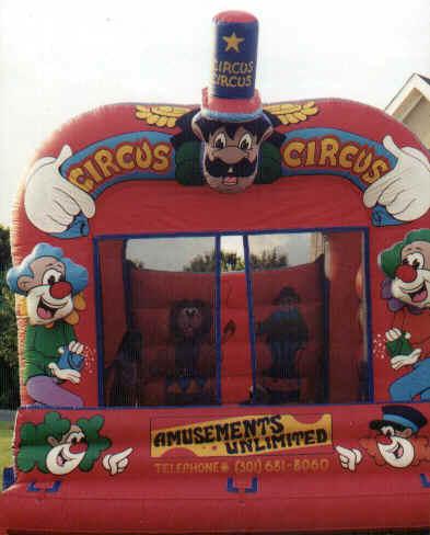 Circus Moonbounce