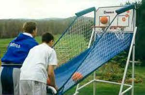 Electronic Mini Basketball Shoot