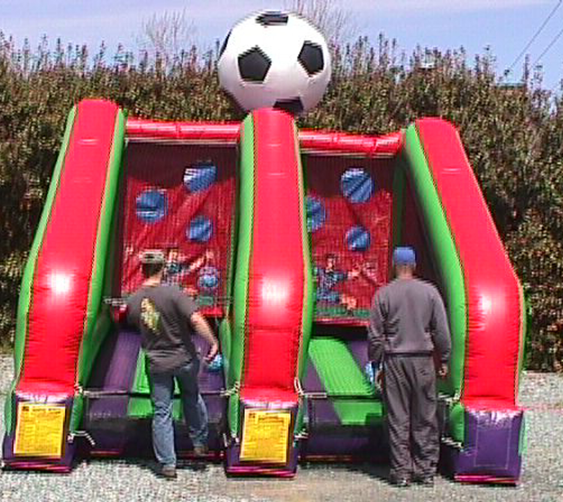 Inflatable PK Soccer Shootout