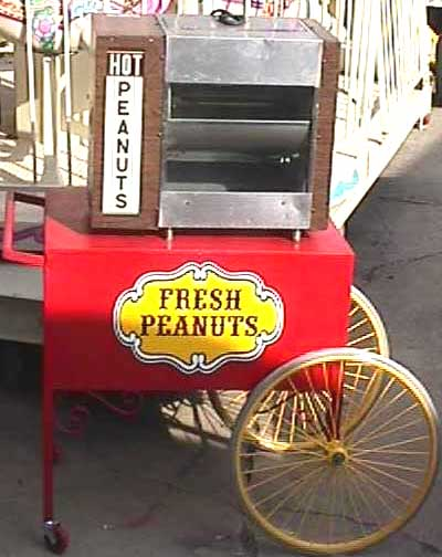 Hot Peanuts Cart