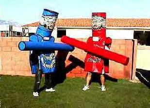 Adult& Kiddie Medieval Joust