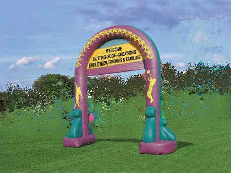Inflatable Grand Entrance Archway 25'