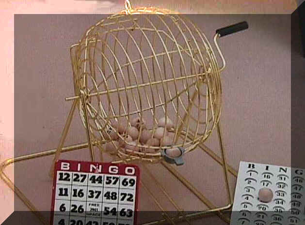BRASS PLATED BINGO