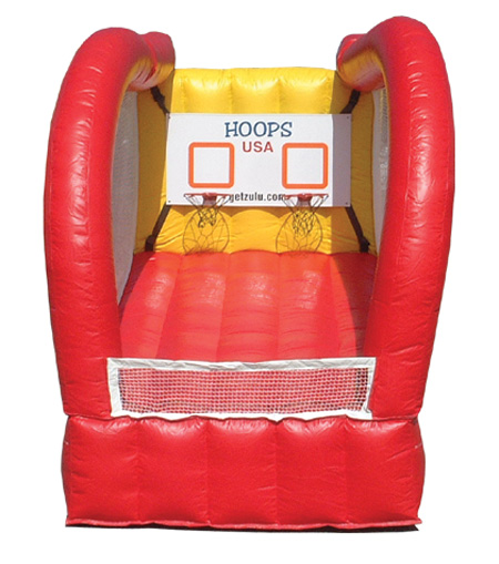 Inflatable Double Shout BB Hoops